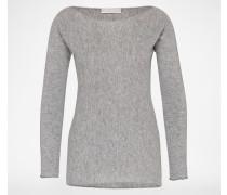 Pullover aus Schurwolle 'Barchetta' grau