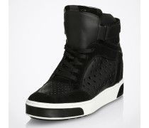 High Top Sneaker 'Pia' schwarz