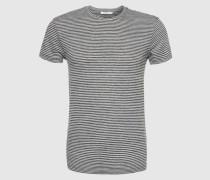 T-Shirt 'Graham 6305' schwarz/weiß