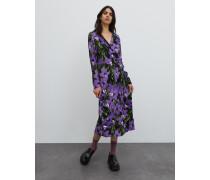 Kleid 'Sallie' schwarz/lila