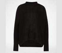 Oversized Pullover 'Nmvera' schwarz