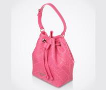 Beuteltasche 'Embossed' pink