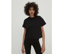 T-Shirt 'Selena' schwarz