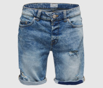 Jeans-Shorts 'onsLOOM' blau