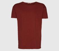 T-Shirt 'Roger Slub' rot