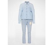 Overall 'Vintage Worksuit' blau