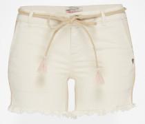 Shorts beige/weiß