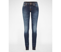 'Lin' Skinny Jeans blau