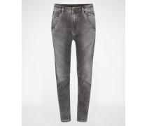 'Fayza' JoggJeans Tapared Fit 855B grau