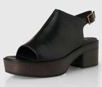 Sandalen 'Noor' schwarz
