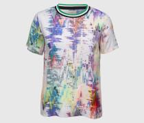 T-Shirt aus Viskose 'Fantasia' mehrfarbig