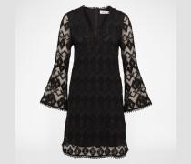 EDITED x Lena Terlutter Kleid aus Spitze 'Lou' schwarz
