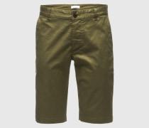 Shorts 'Balder' grün