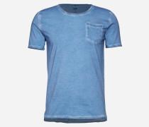 T-Shirt mit Brusttasche 'Cirico' blau