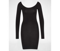 Jersey-Kleid schwarz