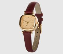 Armbanduhr 'Moneypenny' rot