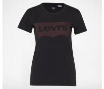 'The Perfect Tee Large Batwing' Shirt schwarz