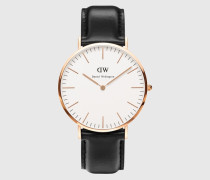 Uhr 'Classic Collection Sheffield' gold/schwarz