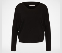 Pullover aus Schurwolle 'Maglia' schwarz