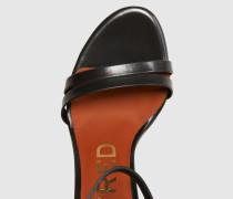 Sandaletten 'Della' grau