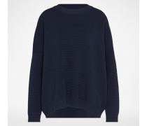 Oversized Pullover 'ADPTCURL' blau