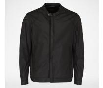 Jacke im Biker Stil schwarz
