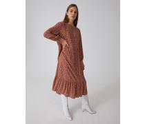 Kleid 'Inola' braun