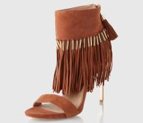 Sandaletten 'Vivian' beige/braun