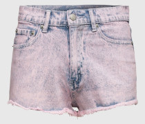 High Waist Denimshorts 'Ease' pink