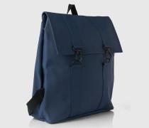 Wasserfester Rucksack blau
