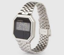 Armbanduhr 'Re-Run' silber