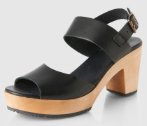 Sandale mit Blockabsatz 'Oni' schwarz