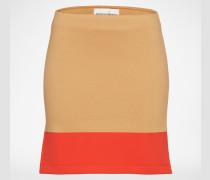 Minirock 'CAMERON' beige/rot