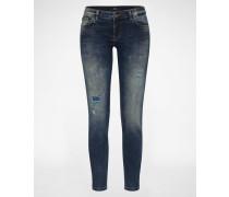 Slim-fit-Jeans »Mina« blau