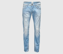 'Ego.TPD' Tapered Jeans blau