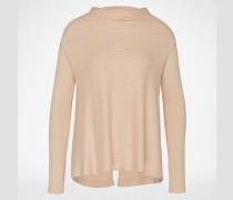 Gerippter Pullover 'Lover' pink