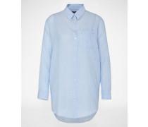 Bluse 'WENIWO' blau/weiß