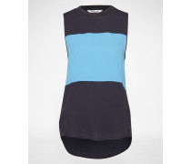 Tank Top 'April' blau/schwarz