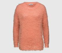 Langer Strickpullover 'Daphne' pink