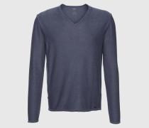 Pullover in Used-Optik ' Citoby' blau