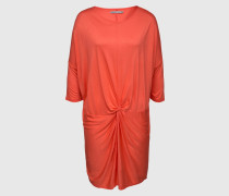 Drapiertes Jersey-Dress 'Loretta' rot/orange