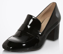Loafer mit Blockabsatz 'Emmaline' schwarz