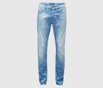 Regular Slim Fit Jeans 'Ralston - Fruity Flavour' blau