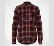 Karo-Hemd rot/schwarz