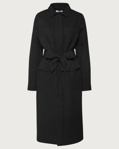 Mantel 'Mirella' schwarz