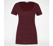 Shirt 'Nobel Tee Stripe 3173' blau