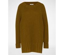 Oversized Pullover 'Svantje' braun
