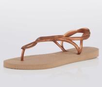 Zehentrenner-Sandale 'Luna' gold