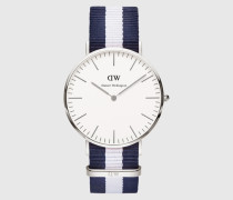Uhr 'Classic Collection Glasgow' silber