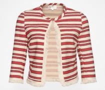 Jacke 'Aplar' rot/weiß